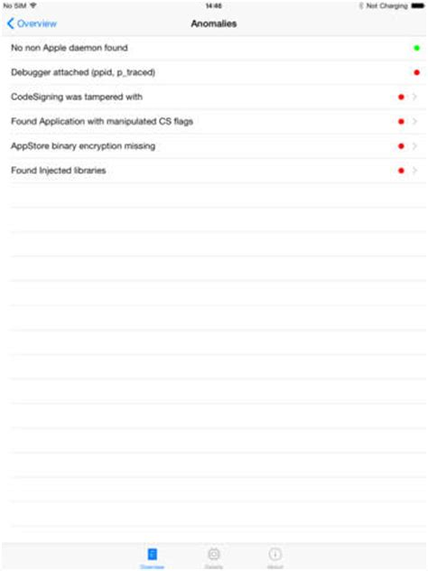 check iphone for malware iphone scan malware check syssecinfo app