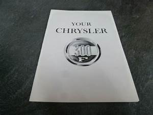 1960 Chrysler 300f Coupe Convertible Owner Operator Manual
