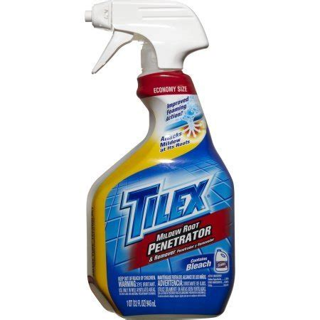 tilex bathroom cleaner msds economy size tilex mildew root penetrator and remover with