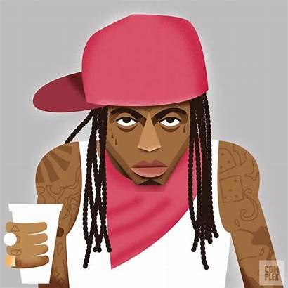 Lil Cartoon Wayne Rapper Complex Rappers Hop