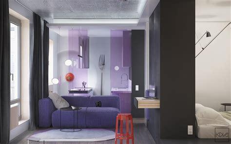 A Super Stylish Small Space Apartment : Interior Design Ideas