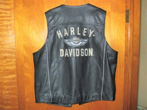Harley Davidson Mens 100th Anni Vest Large