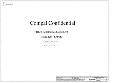 Acer Iconia Tab A500 Compal La6871p Pbj20 Rev04, Service
