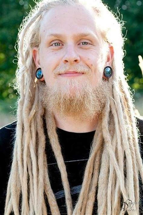 11 Dreadlock Hairstyle with White Men | Mens Hairstyles 2018