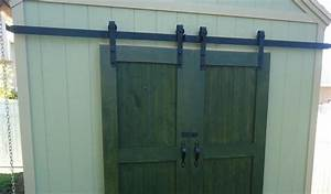 Sliding barn door hardware kits fayette furniture for Custom barn door kits
