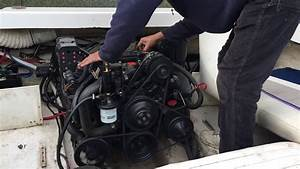 Volvo Penta 4 3 Gl Engine Run After Rebuild