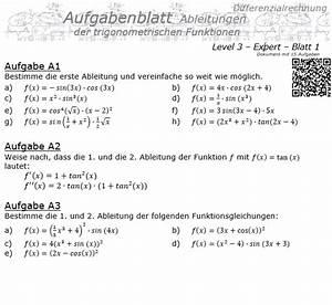 Ableitungen Online Berechnen : erfreut grafik trigonometrische funktionen arbeitsblatt ~ Themetempest.com Abrechnung