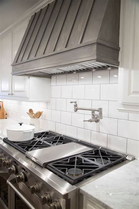 stove awesome and subway tiles on