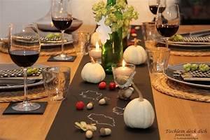 Herbst Tischdeko Natur : herbst ist wenn es gem tlich wird tischlein deck dich ~ Bigdaddyawards.com Haus und Dekorationen