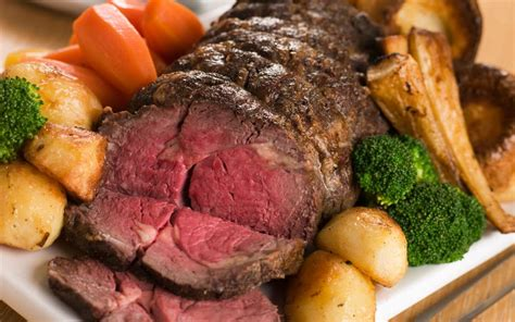 cuisine anglaise typique the roast beef