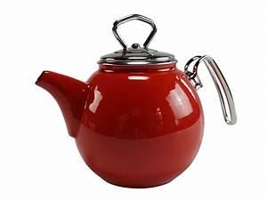 Teekanne 1 5l : haushalt krausse schwerter email teekanne 1 5l rot online kaufen ~ Watch28wear.com Haus und Dekorationen