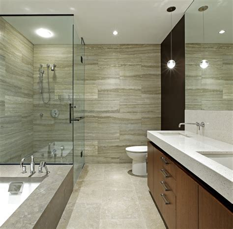Modern Bathroom Renovation Ideas by Penthouse Loft Renovation Modern Bathroom Toronto