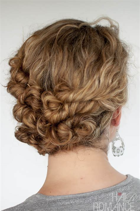 easy updos for long curly hair hairstyle for women man
