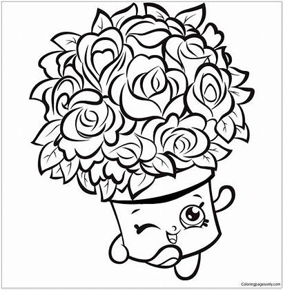 Shopkins Coloring Pages Season Colouring Shopkin Limited