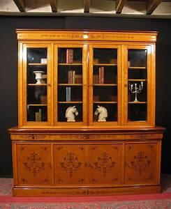 grande bibliotheque charles x meuble 2 corps vitrine With meubles charles x