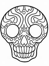 Sugar Skulls Coloring Kleurplaten Zo Skull Ausmalbilder Malvorlage Kleurplaat sketch template