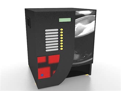 3d vending beverage machine cadnav