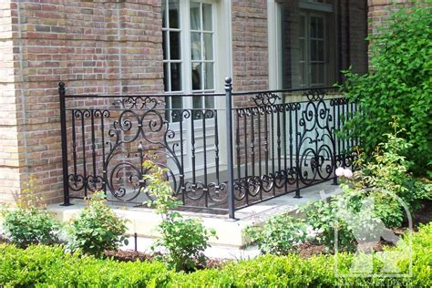 Iron work rails, railings & accessories stairway ornamental metal work. Wrought Iron Exterior Railings Photo Gallery | Iron Master