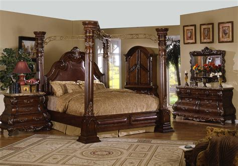 canopy bed canopy bedroom sets  post canopy bed