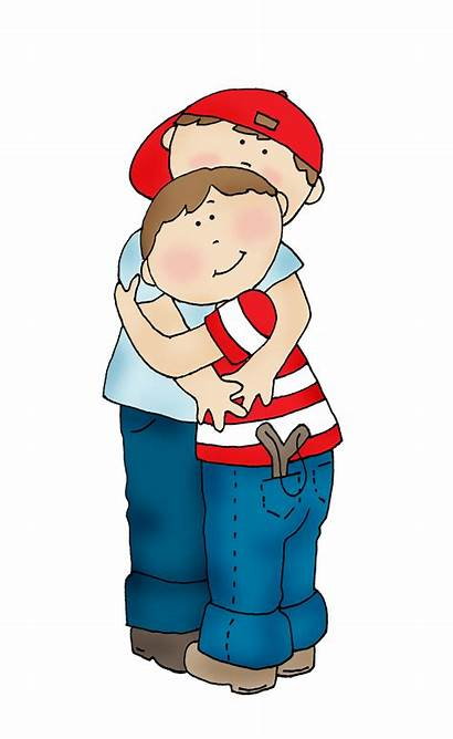 Brother Hugs Stamps Digi Clipart Dearie Dolls