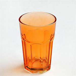 China new Spraying Color glass cup tumbler colored