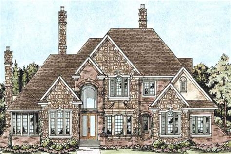 traditional 2 story house plans house plan 120 2164 4 bedroom 4268 sq ft cape cod european home tpc db 30010