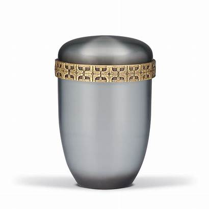 Cross Cremation Silver Motif Adult Urn Ashes