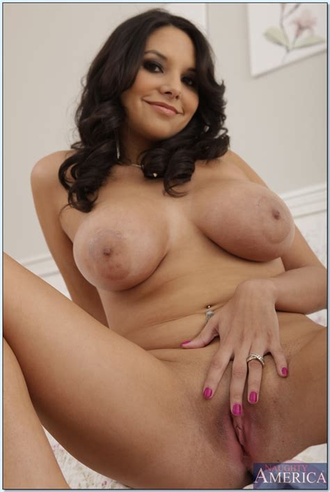 Busty Latina Babe Missy Martinez Gets Naked To Finger Her Horny Cunt