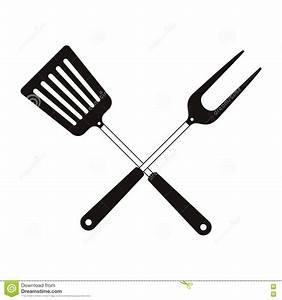 Bbq cooking utensils stock vector. Illustration of steak ...