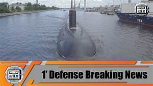 First Trial Of New Russian Submarine Improved Kilo
