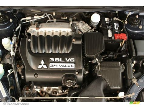 2006 Mitsubishi Galant Ls V6 3.8 Liter Sohc 24-valve V6