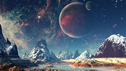 Space Moon Planet Outer Earth Nature 1080p