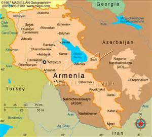 Armenia Location On World Map
