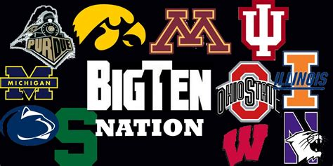 2010 11 Nhl Standings by Big Ten College Football Preview