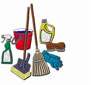 House Cleaning: House Cleaning Services Logos Design