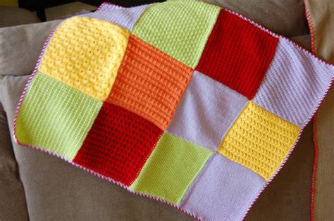 faire un plaid en patchwork comment tricoter un patchwork