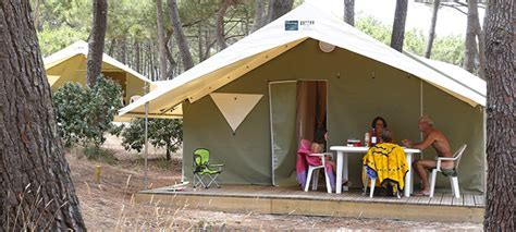 Naturalodge tent 4 persons   2 rooms   CHM Montalivet