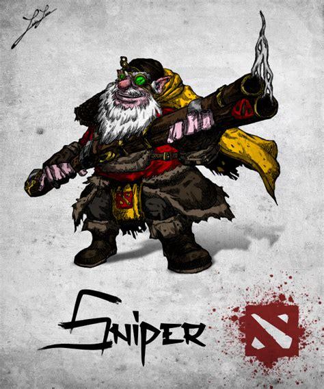 sniper build guide dota 2 sniper carry