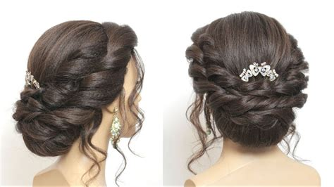 Bun Hairstyles For by Bridal Bun Hairstyle Tutorial Wedding Updo For Hair