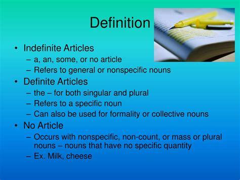 PPT - Articles in English Grammar PowerPoint Presentation ...