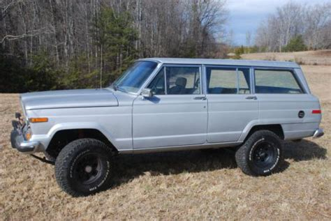 wagoneer jeep lifted sell used 1988 jeep grand wagoneer lifted 4x4 in mill
