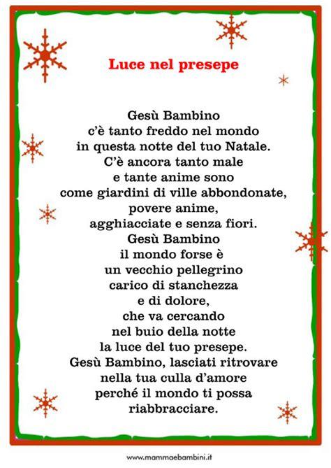 Cornici Per Poesie by Poesia Sul Natale Con Cornice E Nato Ges 249 Mamma E Bambini