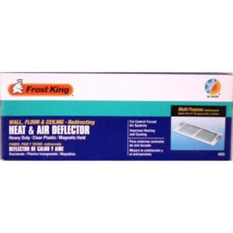 Floor Register Deflector Home Depot by King E O Heat And Air Deflector Hd5 The Home Depot