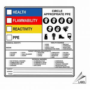 Hazardous material hazmat sds msds and right to know for Hazardous chemical labels signs