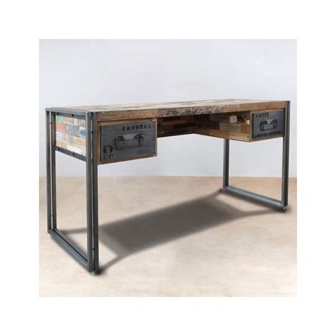 meuble bureau bois bureau meuble bois 54 argenteuil drawtest info