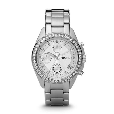 Fossil Decker Chronograph Stainless Steel Watch, Es2681