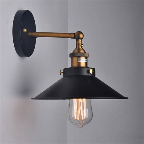 american retro loft vintage industrial 1 light wall light
