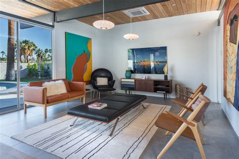House Of The Week A Brand New Midcentury Modern In Palm
