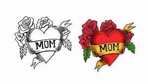 Mother's day drawing ideas - YouTube