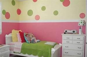 Wandgestaltung Kinderzimmer Mädchen : kinderzimmer streichen 20 bunte dekoideen kinderzimmer streichen kinder zimmer und ~ A.2002-acura-tl-radio.info Haus und Dekorationen